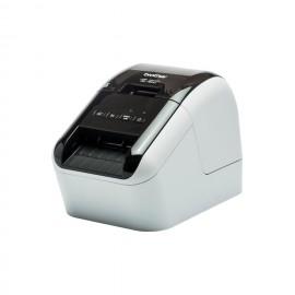 Brother QL-800 Térmica directa Color 300 x 600DPI Negro, Gris QL800ZX1