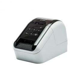Brother QL-810W Térmica directa Color 300 x 600DPI Negro, Color blanco QL810WZX1