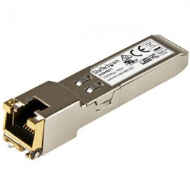 StarTech.com Módulo Transceptor de Cobre SFP Gigabit RJ45 1000Base-T - Mini GBIC Compatible con HP JD089B - 100m