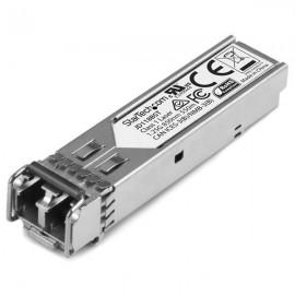 StarTech.com Módulo Transceptor de Fibra SFP de 1 gigabit 1000Base-SX - Compatible HP JD118B - Mini GBIC Multimodo LC 550m