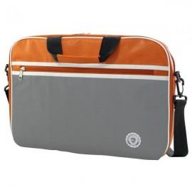 e-Vitta Retro bag 12.5'' Maletín clásico Gris, Naranja EVLB000123