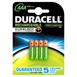 Duracell StayCharged AAA (4pcs) 5000394203822