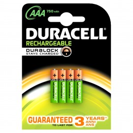 Duracell AAA (4pcs) 05000394090231