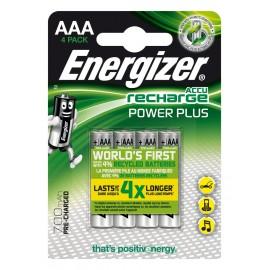Energizer Accu Recharge Power Plus 700 AAA BP4 Níquel metal hidruro 700mAh 1.2V 535-417005-00