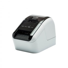 BROTHER QL-800 T?rmica directa Color 300 x 600DPI Negro, Gris impresora de etiquetas