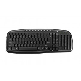 Genius KB-M225C USB QWERTY Negro