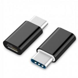 GEMBIRD A-USB2-CMmF-01 USB Type-C Micro USB Negro