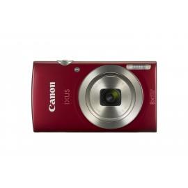 Canon Digital IXUS 185 20MP 1 2.3 CCD 5152 x 3864Pixeles Rojo 1809C010