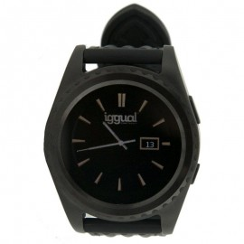IGGUAL Smartwatch EVO1 1.2 IPS BT4.0 Negro IGG313824