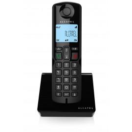 ALCATEL S250 DECT Identificador de llamadas Negro 3700601415520