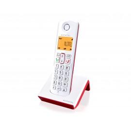 ALCATEL S250 Tel?fono DECT Identificador de llamadas Rojo blanco ATL1416442