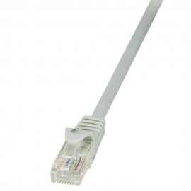 LOGILINK CABLE RED UTP CAT5E RJ45 CP1022U 0.5M CP1022U