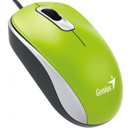 Genius DX-110 USB Óptico 1000DPI Ambidextro Verde 31010116105