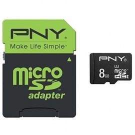 PNY SDMICRO 8GB CL10 Performance 50Mb s SDU8GBPER50-EF