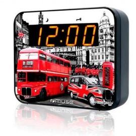 MUSE M-165 LD Reloj Digital radio