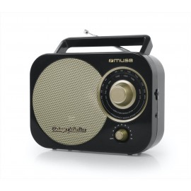 MUSE RADIO M-055 RB PORTATIL ANALOGICA FM MW AC DC