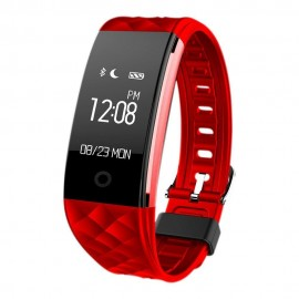 Woxter SmartFit 15 Wristband activity tracker 0.96 OLED Inal?mbrico IP67 Negro, Rojo MV26-215