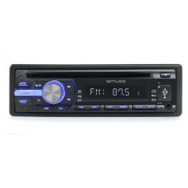 MUSE AUTORRADIO CD MP3 USB  M-1009 MR
