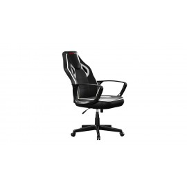 SILLA GAMER MARS GAMING MGC0BBL COLOR NEGRO BLANCO