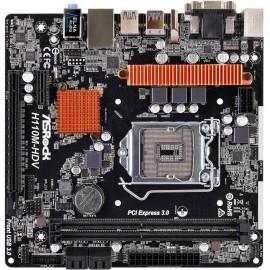 ASROCK H110M-HDV R3.0,INTEL,1151 90-MXB4W0-A0UAYZ