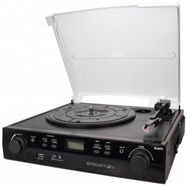 Brigmton BTC-406 Tocadiscos-Cassette Grabador BTC-406REC