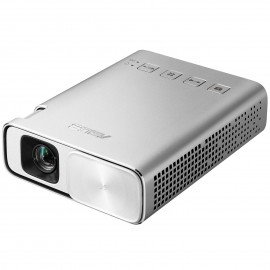 ASUS ZenBeam E1 150lúmenes ANSI DLP WVGA (854x480) Portable projector Plata 90LJ0080-B00520