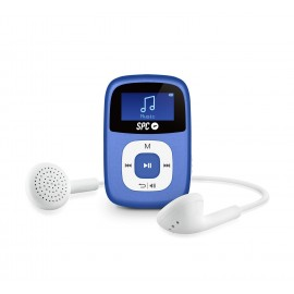 SPC Reproductor MP3 Clip 8644A 4GB Azul