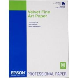 Epson Velvet Fine Art Paper, DIN A2, 260 g m², 25 hojas C13S042096