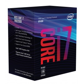 Intel Core i7-8700K 3.7GHz 12MB Smart Cache Caja procesador