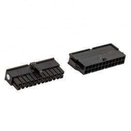 Cablemod CM-CON-24ATX-R ATX Negro