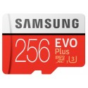 Samsung EVO Plus MB-MC256G 256GB MicroSDXC UHS-I Clase 10 memoria flash