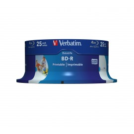 Verbatim Datalife 6x BD-R 25GB 25pieza(s) 43811