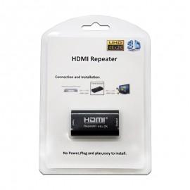 Nanocable Repetidor HDMI, A/H-A/H, Negro 10.15.1201