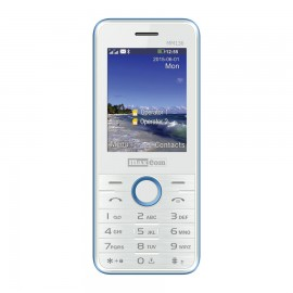 MaxCom Classic MM136 2.4'' 54g Azul, Color blanco  MM136