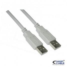 Nanocable USB A/M - A/M  2M