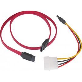 Revoltec cable Datos SATA y Alimentacion SATA 60cm