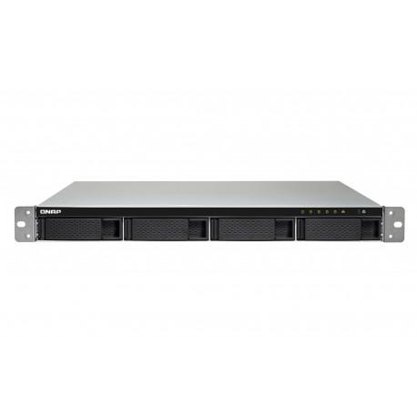 QNAP TS-453BU-RP NAS Bastidor (1U) Ethernet Negro, Gris TS-453BU-RP-8G