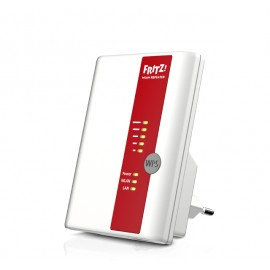 AVM FRITZ!WLAN Repeater 450E International 450Mbit/s Rojo, Color blanco 20002678