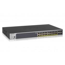 Netgear GS728TP Gestionado L2/L3/L4 Gigabit Ethernet (10/100/1000) Energía sobre Ethernet (PoE) 1U Negro GS728TP-200EUS