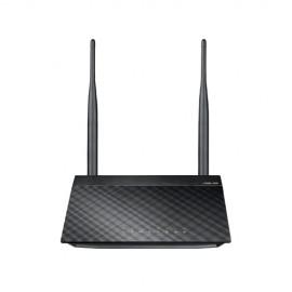 ASUS RT-N12E C1 N300 Banda única (2,4 GHz) Ethernet rápido Negro, Metálico 90-IG29002M03-3PA0-