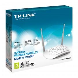 TP-LINK TD-W8961N Ethernet rápido Blanco