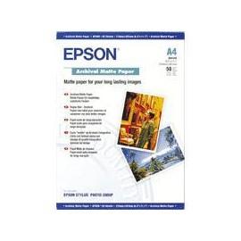 Epson Archival Matte Paper, DIN A4, 192 g/m², 50 hojas C13S041342