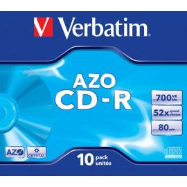 Verbatim CD-R Crystal 10 Unidades