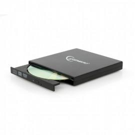 Gembird DVD-USB-02 DVD±RW Negro unidad de disco óptico
