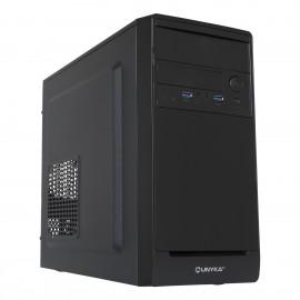 UNYKAch Caja AERO C10 carcasa de ordenador Micro-Tower Negro 52096