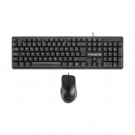 Tacens teclado USB QWERTY Español Negro ACP0ES