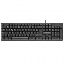 Tacens teclado USB QWERTY Español Negro AK0ES