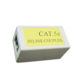 Gembird Cat. 5E LAN RJ-45 RJ-45 Blanco adaptador de cable NCA-LC5E-001