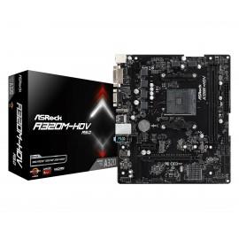 Asrock A320M-HDV R3.0 Zócalo AM4 AMD A320 micro ATX 90-MXB970-A0UAYZ