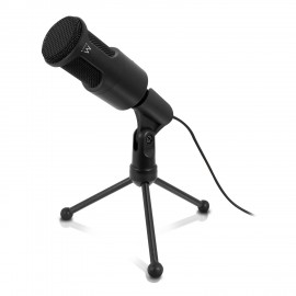 Ewent micrófono PC microphone Alámbrico Negro EW3552